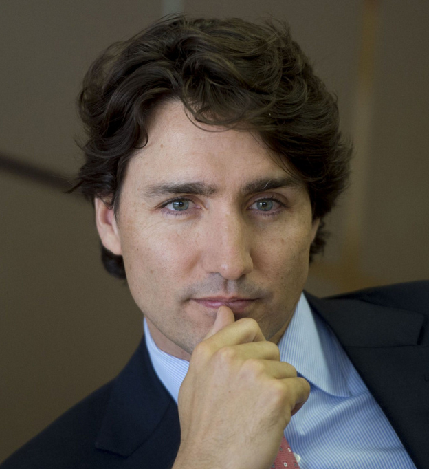 Justin Trudeau Prime Minister Of Canada Poses For A: Justin Trudeau, Prime Minister Of Canada