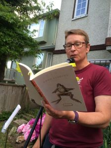 Anne Fleming reading