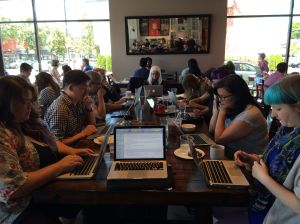 Shut Up and Write Vancouver July 2016