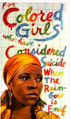 ntozake shange essay Ntozake shange is a contemporary black poet, playwright, and novelist like many postcolonial writers, shange attempts to forge a place within the literary tradition.